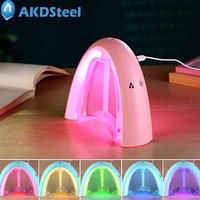 AKDSteel USB Charging Mini Rainbow Shape Colour Change Night Light Humidifier With Message Board Christmas Gift