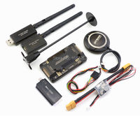 Side Pin APM2 8 APM Flight Controller Ublox NEO M8N 8N GPS Compass With Power Moudle