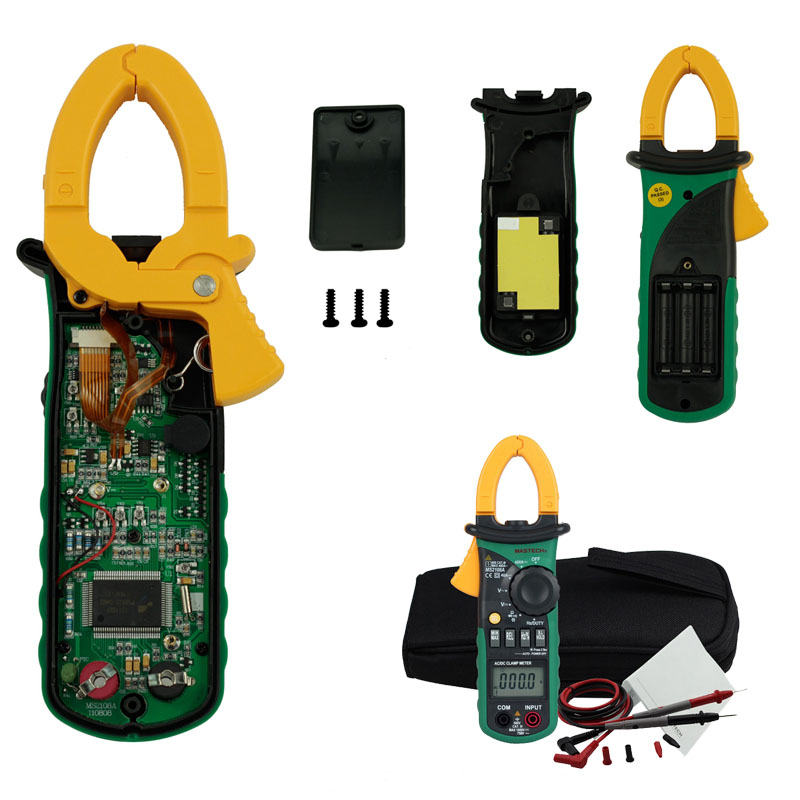 A Digital Clamp Meter 400 : Aliexpress buy mastech ms a auto range digital