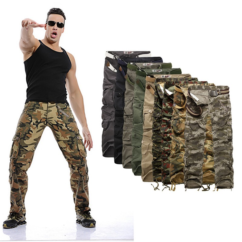 Men's cargo Pants millitary clothing Tactical Pants ...