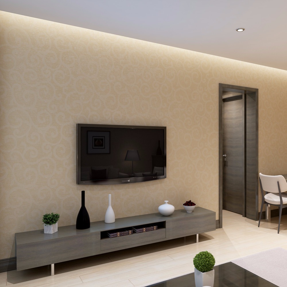 Wall Covering For Living Room Classic Non Woven Wallpaper For Walls 3 D Wall Covering Living