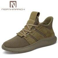 NORTHMARCH мужской обуви для взрослых модные кроссовки Для мужчин высокое качество повседневные мужские туфли кроссовки красовки Для мужчин ды