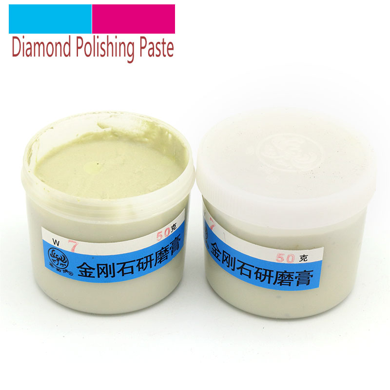 50g/bottle Diamond Polishing Lapping Paste For Jade Emerald Agate Crystal Ceramic Alloy Gypsum Metal Grinding Abrasive Tools