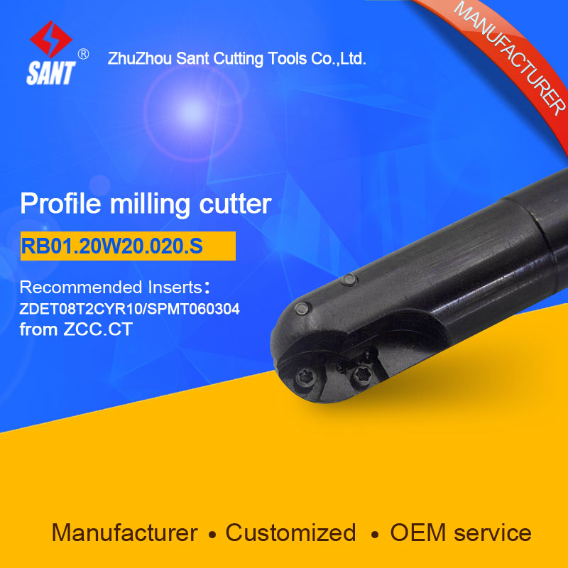 Suggested BMR01-020-XP20-S  Indexable Milling cutter SANT RB01.20W20.020.S with SPMT060304 carbide insert запонки marc sant 16 b 1101 20 e