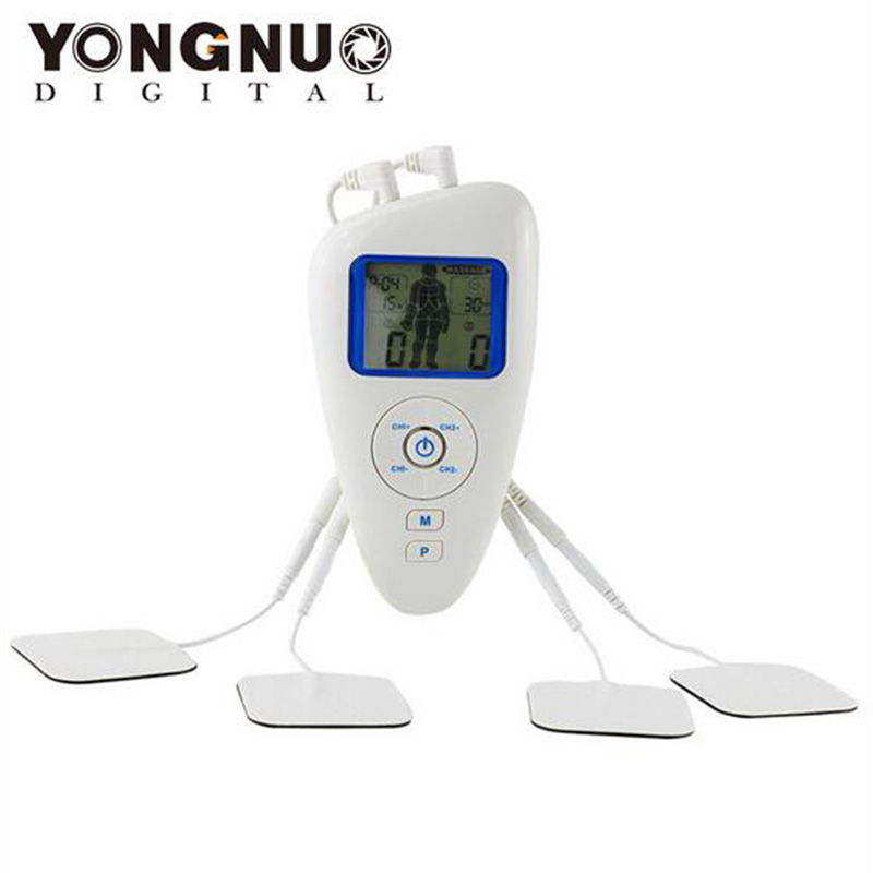 New Tens/EMS/Massager Three Function Digital Therapy Machine Electronic Pulse Massager Alta Frequencia Portatil Masajeador