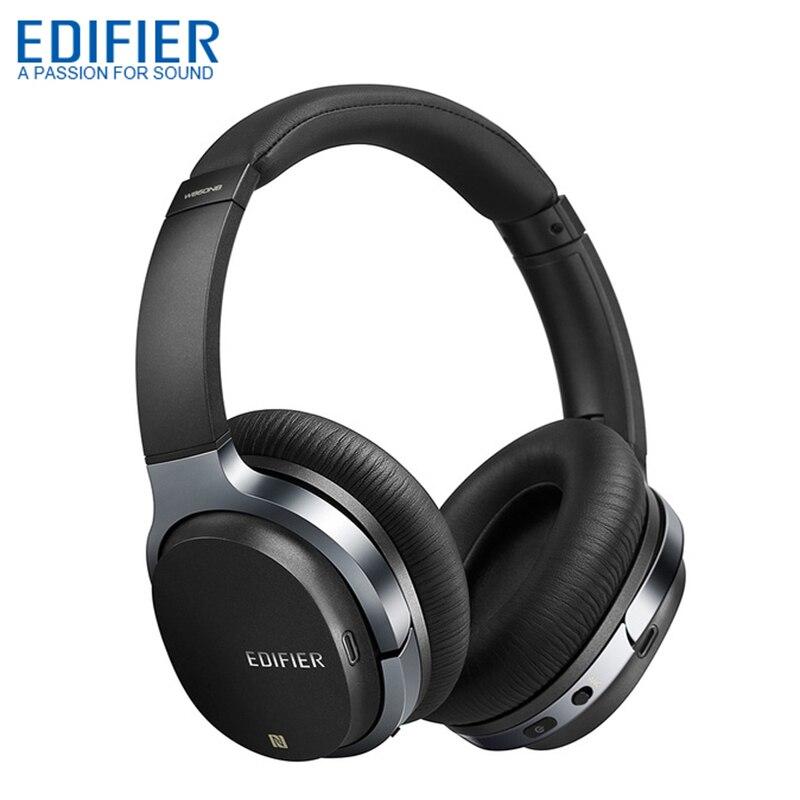 EDIFIER W860NB ANC Active หูฟังบลูทูธไร้สายบลูทูธ 4.1 หูฟังสมาร์ท NFC Touch Control-ใน หูฟังบลูทูธและชุดหูฟัง จาก อุปกรณ์อิเล็กทรอนิกส์ บน AliExpress - 11.11_สิบเอ็ด สิบเอ็ดวันคนโสด 1