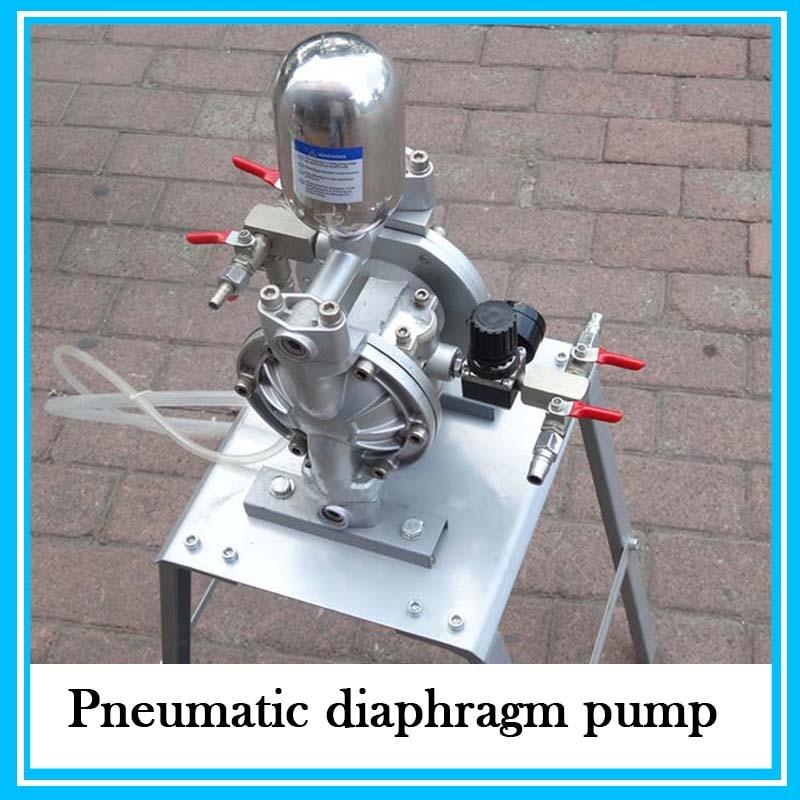 High Quality 35L/min Mini Double Way Pneumatic Ink Diaphragm Pump aro ingersoll rand pneumatic diaphragm pump 1 1 2 metal pump housing 666170 3eb c