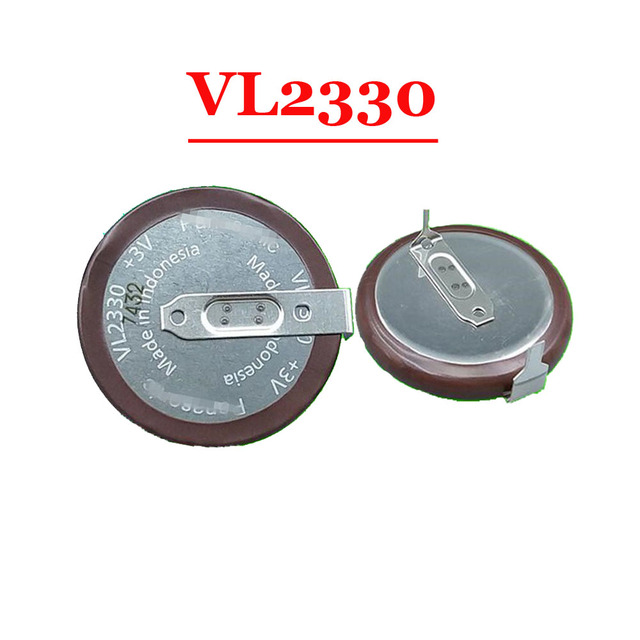 (1 יחידות) 100% חדש ומקורי VL2330 3 v נטענת סוללה