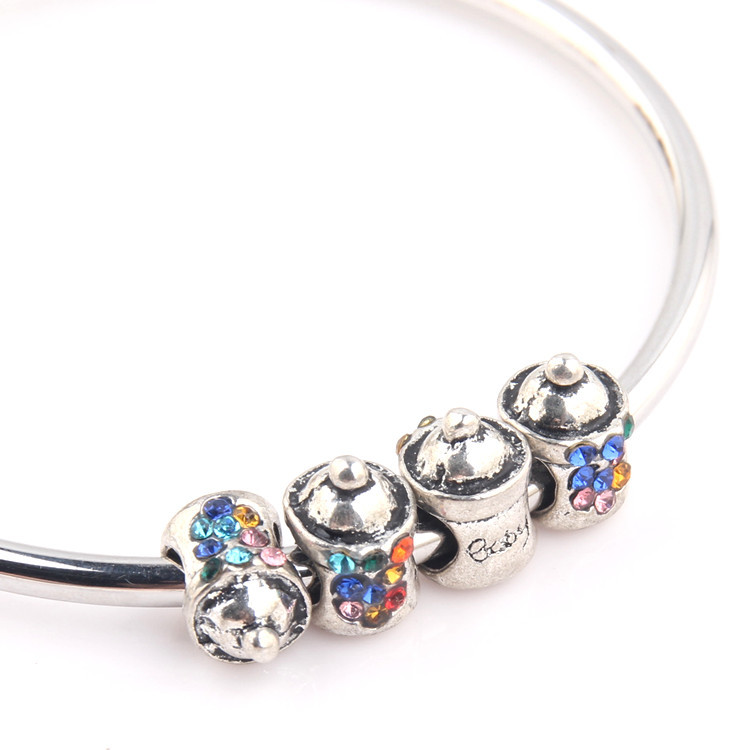 braccialetti bambina argento pandora