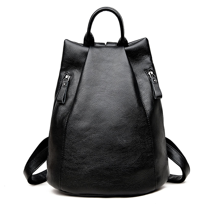 Fashion Women's Genuine Leather Backpacks Women Girls Students School Bag Shoulder Bags Women Casual Travel Bag new gravity falls backpack casual backpacks teenagers school bag men women s student school bags travel shoulder bag laptop bags