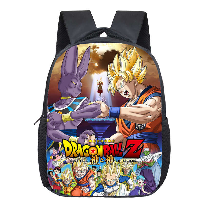 Anime Dragon Ball Children School Backpack Boys Book Bag Kids Kindergarten Backpack Cartoon School Bags Best Gift Shoulder Bag anime noragami aragoto yato backpack for teenage girls boys cartoon yukine children school bags casul book bag travel backpacks