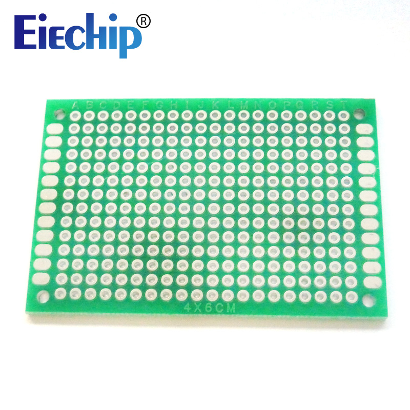 10pcs Double Side Prototype PCB Board 4x6 Cm Diy Universal Printed Circuit Board Kit 4*6cm Circuit Prints Soldering Board