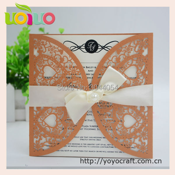 Customize colors and design laser cutting 3d doc 50th wedding ...