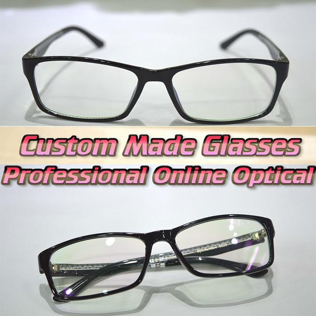 Personalizado feito de lentes de aro TR90 Matte preto de óculos de leitura + 1 + 1.5 + 2.0 2.5 + 3 + 3.5 + 4 + 4.5 + 5 + 6
