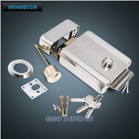 HOMSECUR Electronic Door Lock With Unlock Button For Access Control System