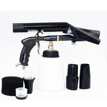 Z 200 Nieuwe 2IN1 Tornado Air Regulator Bearring Buis Duurzaam Tornado Pistool Zwarte Combo Vacuüm Adapter (1 Hele Pistool)