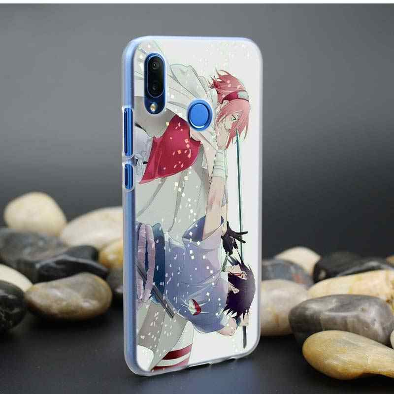 Anime Case for Huawei P20 P30 P Smart P8 P9 P10 lite Pro P20lite P30Pro Hard PC Fundas Capa Phone Cas Cover Naruto Haruno Sakura