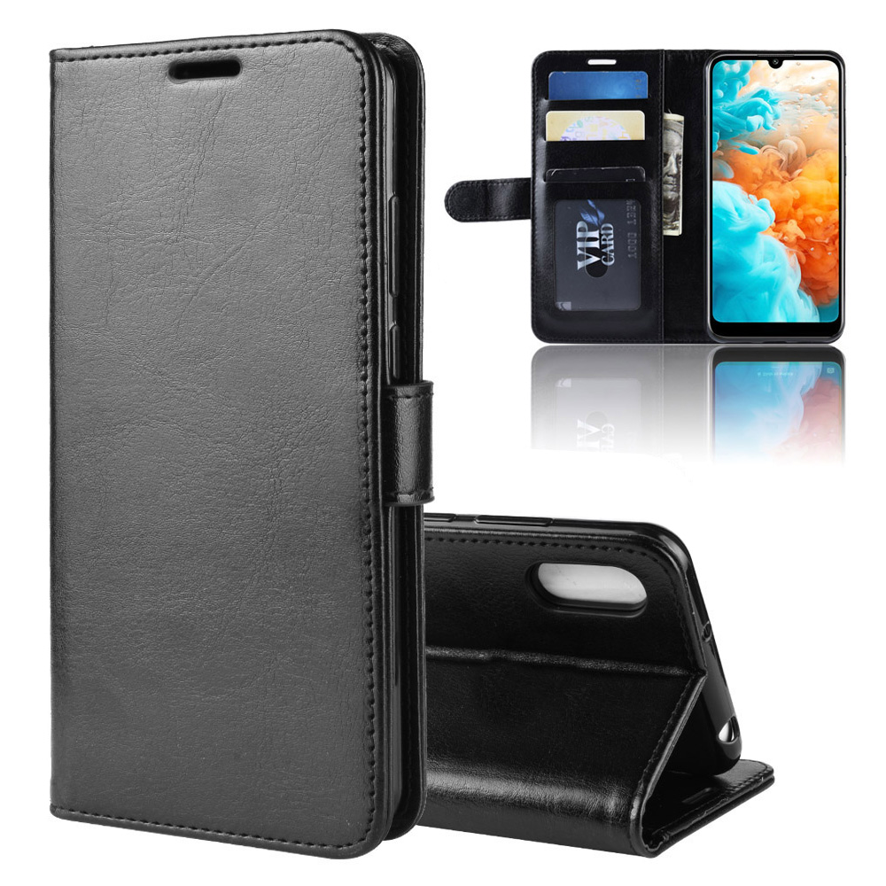KOC3572_1_Wallet Leather Case with Card Slots and Stand for Cubot X19