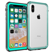 Redpepper For iPhone X Xs Waterproof case Shock Dirt Snow Proof Protection for iPhone Xs case With Touch ID Cover Skin 5.8 inch for iphone xs max ip68 waterproof case water shock dirt snow proof protection for iphone xs with touch id case cover