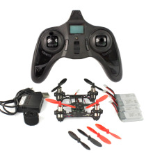 Mini Tiny QX80 80mm Carbon FPV Brushed Indoor RC Quadcopter DIY RTF Assemble Kit H107 Flight Control 5.8G 25mW Camera F19032-B/C