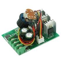 30A PWM Bộ Điều Khiển Tốc Độ Động Cơ Mô Đun Đèn Mờ Hiện Tại Bộ Điều Khiển + Màn Hình DC6 60V