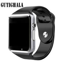 Relógio de Pulso Relógio Inteligente Sincronização do Relógio A1 Gutighala Notifier Suporte SIM Card TF Conectividade Apple iphone Telefone Android Smartwatch