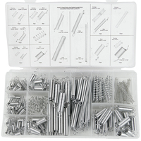 200PCS Spring Extension Spring Compression Spring Set 200 Transparent Pp Plastic Box 20 Kinds Of Specifications