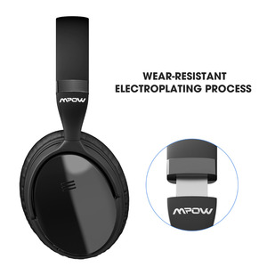 Image 3 - Origial Mpow H5 2nd Generation ANC Wireless Bluetooth Headphone Wired/Wireless With Mic Carrying Bag For PC iPhone Huawei Xiaomi