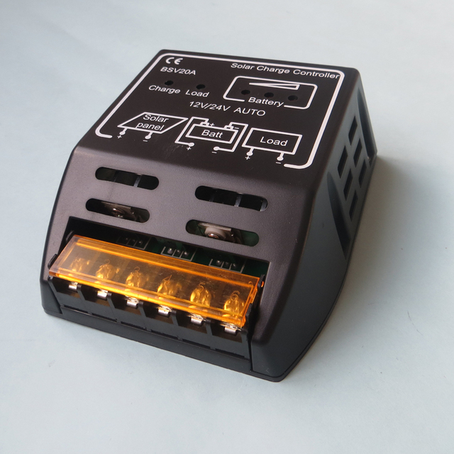 20A BSV20A 12V 24V intelligence Solar cells Panel Battery Charge Controller Regulators