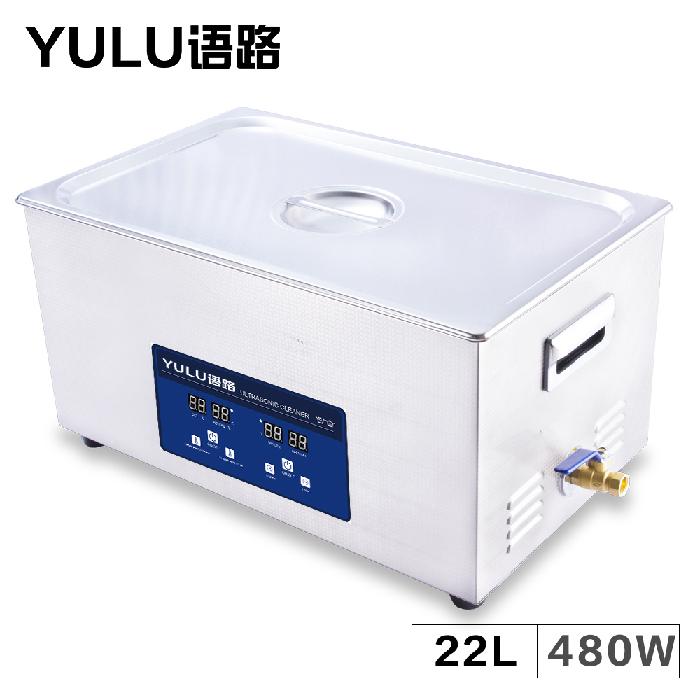 Digital Cleaner Ultrasonic 22L Heater Time Bath Mainboard Engine Block Parts Lab Mold Oil Hardware Washing Tank Instrument Tools