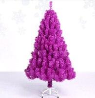 Free Shipping Event Party Christmas Xmas Tree 120cm Quality Encryption Colorful Pine Artificial Christmas Tree Purple