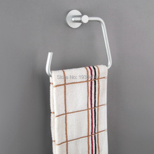 Hot sell Space Aluminum Towel Ring Wall Mounted Bathroom Accessories Circle Towel Rack R519