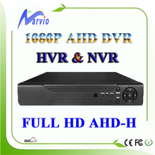 4ch 8ch Full HD 1080P AHD-H AHD-NH AHD DVR AVR Analog Video Recorder Free CMS and P2P remote monitor by phone