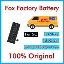 TMO originais 10 pçs/lote Qualidade AAA 0 zero ciclo de substituição da Bateria 1510 mAh 3.7 V para iPhone 5C BMTI5C0BTAAA