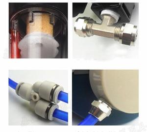 Image 4 - 2 In 1 Industrie Funktion Geliefert Air Federal Atemschutzmaske System Mit 6200 Half Face Labor Chemische Gasmaske
