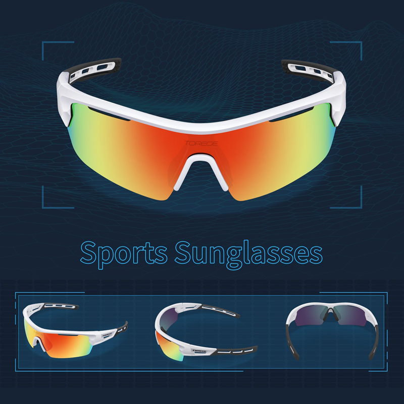 00d2742b76 Torege Brand 2018 New Polarized Outdoor Sports Sunglasses for Men ...