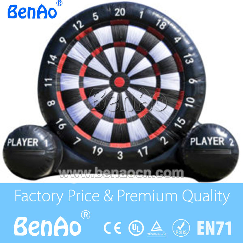 S234 Free Shiping +Free CE/UL Blower 4m   inflatable soccer darts board,inflatable football dart game,giant inflatable dart