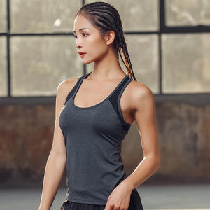 8b2ce2a4e4 Exercise Sport Tank Tops Women Ultra thin Mesh Running Vest Sport Tops