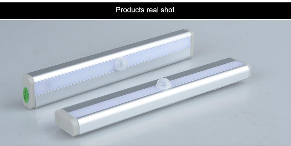 LED Emergency Lighting Light PIR Motion Sensor Lamp 610 LEDs lighting for Wardrobe Cupboard Closet Kitchen night light (12)