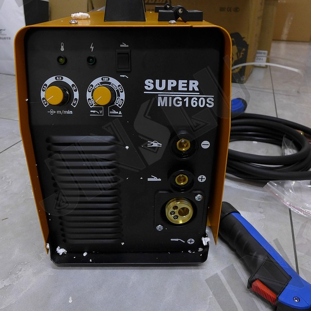 MIG-160 2 In 1  MMA MIG CO2 mig welding machine small mig welder 220V  SALE1