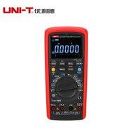 UNI T ut171b Цифровой мультиметр eletronic AC DC True RMS Авто/ручной диапазон допуска (ns) c/f термометр VFC ЖК дисплей Подсветка