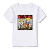 2017 Children Print The Melvins Houdini Metal Rock Band T Shirt O Neck Short Sleeve Summer