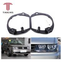 Taochis Car Styling frame adapter module DIY Bracket Holder for VW Volkswagen Jetta Type Hella 3 5 Q5 Projector lens