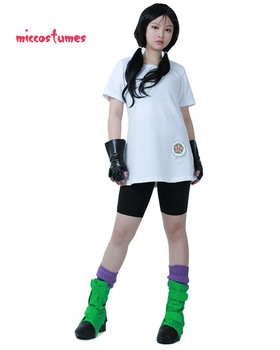 Videl Cosplay Costume with Gloves and Shoe Covers 2