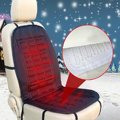 New 12V Car Van Front Seat Hot Heater Heated Pad Cushion Winter Warmer Cover Black Winter Seat Covers