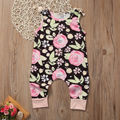 Toddler Kids Baby Girls Summer Strap overalls girls overalls Floral Pants Clothes Outfit bobo choses 2017