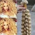 Cheap #60 Platinum Blonde Malaysian Deep Curly Virgin Hair Weave 7A Unprocessed Malaysian Curly Remy Human Hair Bundles 24inch