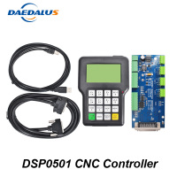 Free shipping DSP0501 CNC Controller CNC Wireless Handwheel 3 Axis Engracing Handwheel Kit English Edition DSP Handle