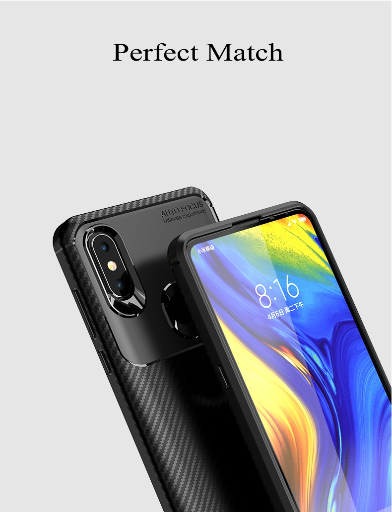 Case For Xiaomi Mi 9 Mi 8 Pro Mi 8SE Mi 8 Lite Cover Carbon Fiber Silicone TPU Case For Xiaomi Pocophone F1 Poco F1 Cover Fundas (6)