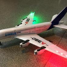 Новинка, WLtoys Airbus A380, игрушки для самолета, 2,4G, 3Ch, радиоуправляемый самолет, фиксированное крыло, самолет, уличные игрушки, Дрон, A120-A380, радиоуправляемый самолет, игрушки